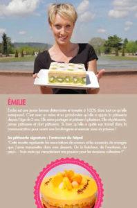 Portrait Emilie Meilleur Pâtissier