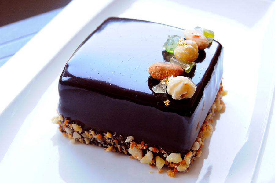 Recette de l'entremets Cédrat confit et chocolat