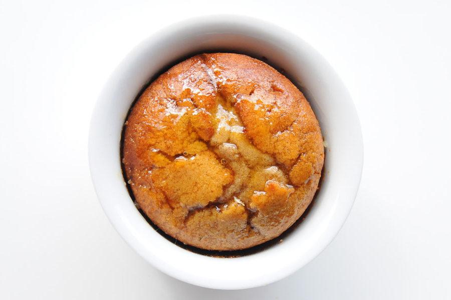 Recette de Gâteau à la châtaigne et beurre d'orange
