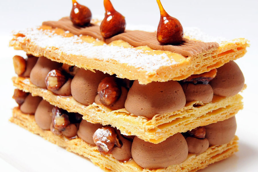 Recette Millefeuille chocolat-safran