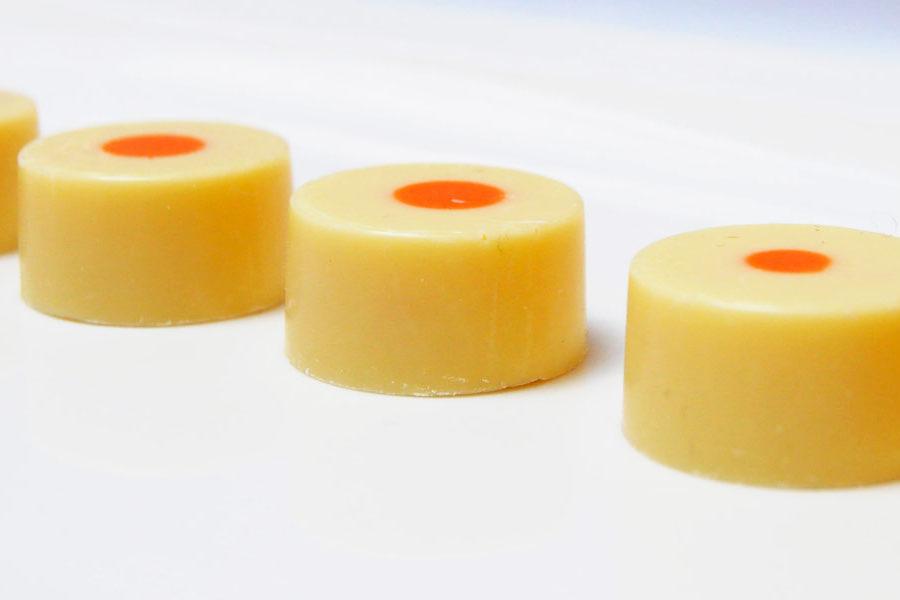 Recette de Bonbon au chocolat blanc ganache Citron Bergamote