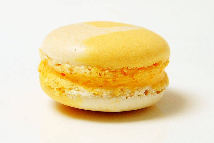 Recette du Macaron Citron Bergamote, Vanille et poivre de Madagascar
