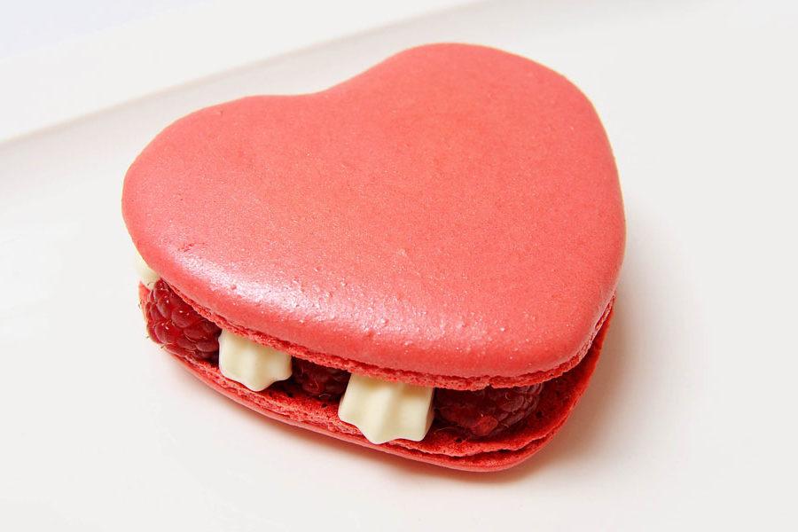 Recette du Macaron de Saint Valentin rose et framboises