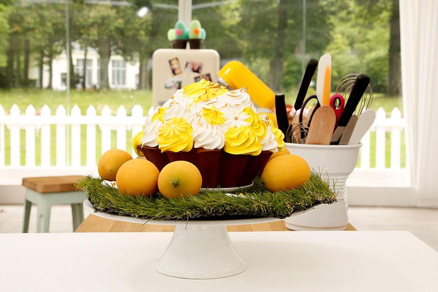 Recette du Cupcake au citron meringué
