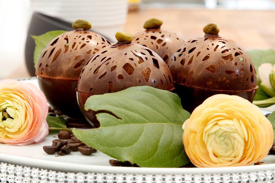 Recette des sphères chocolat