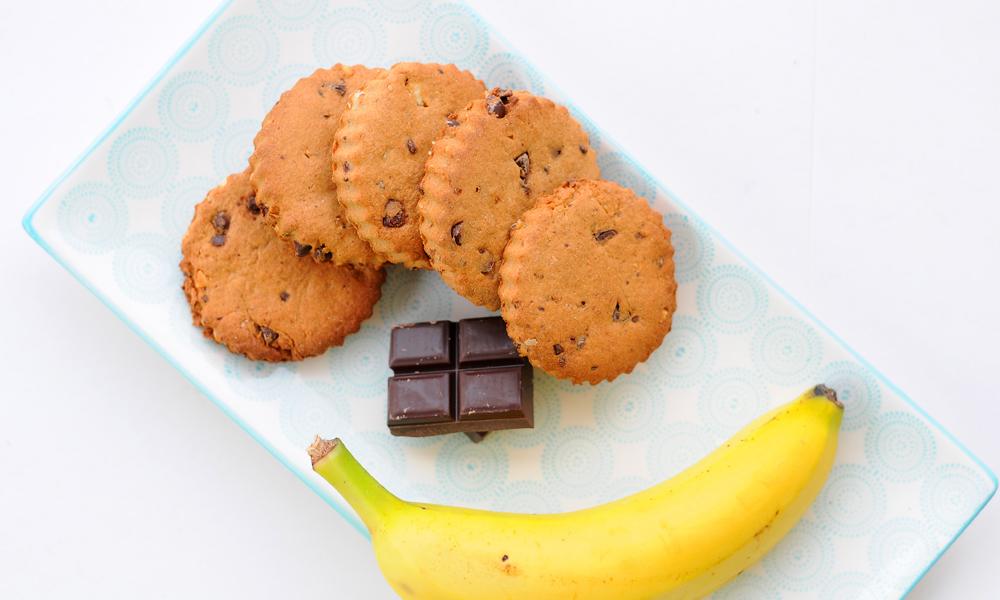 Biscuit sans beurre au chocolat