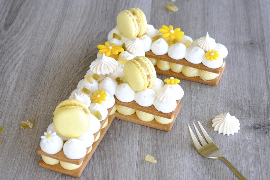 Recette du Letter Cake au Cédrat