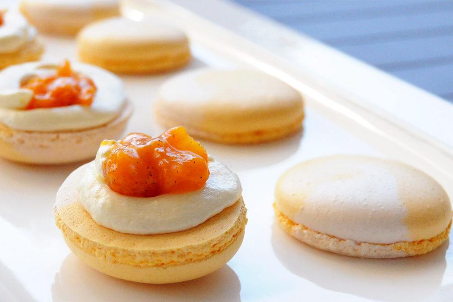Recette du Macaron Abricot Cheesecake