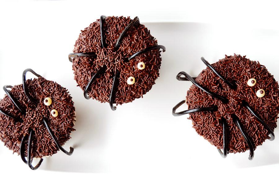 Recette des Cupcakes Araignée