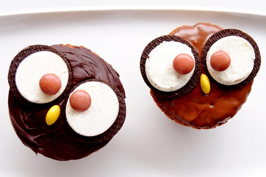 Recette des Cupcakes Hiboux