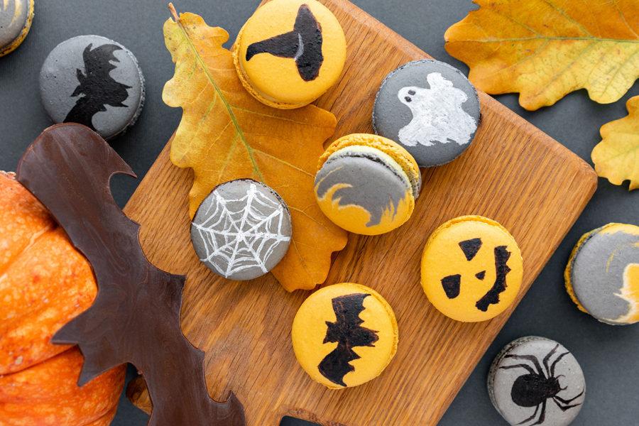 Recette du Macaron d'Halloween au potiron