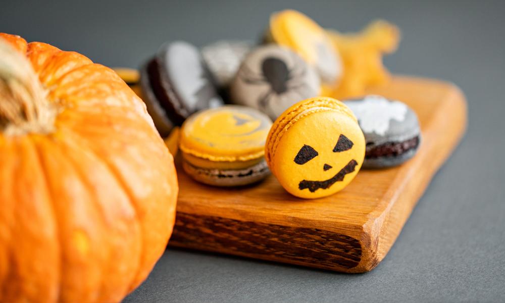 macaron-halloween-citrouille